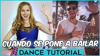 Rombai - CUANDO SE PONE A BAILAR | Dance Tutorial Coreografia