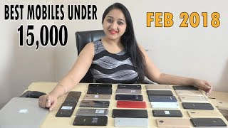 Top 5 Phones Under 15,000 in Feb 2018