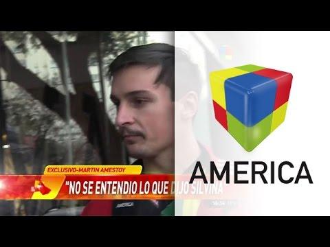 Martín Amestoy: No voy a tolerar que me traten de violento