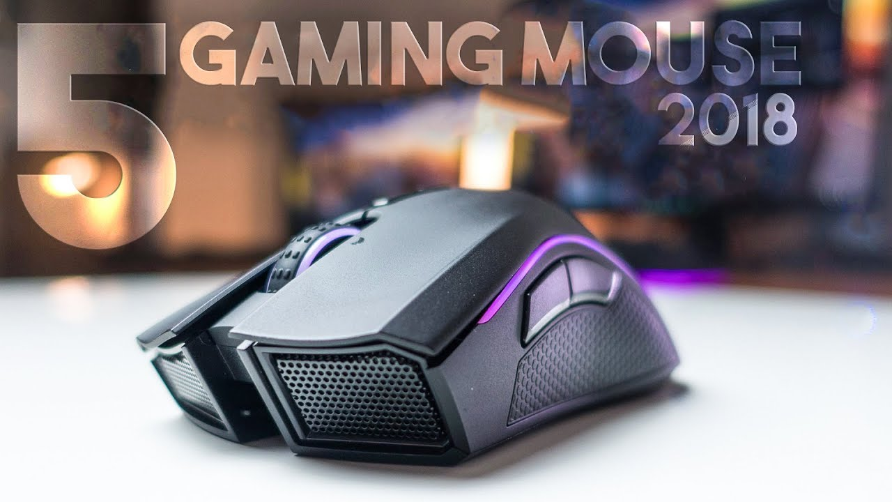 gaming mice 2018