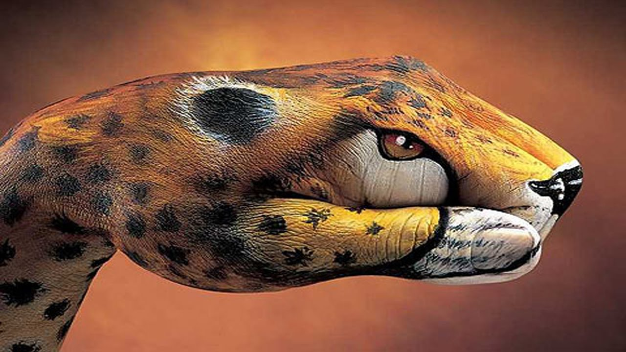 painted animals hands hand most unusual strange attachments amazing animal topic