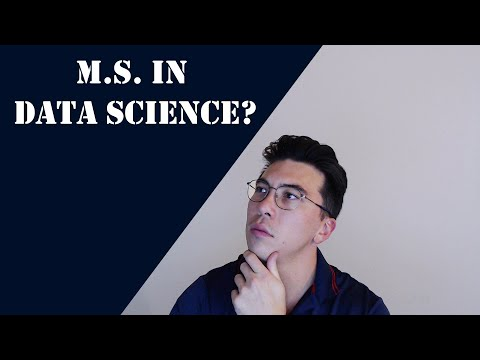 Should You Get A Masters In Data Science?