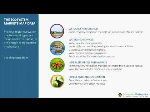 2017 12 07 EnviroAtlas Use Case  Assessing Ecosystem Markets Opportunities on Public Lands