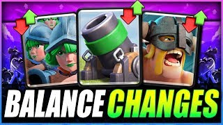 Download Video NEW BALANCE UPDATE NEWS!! Mortar? Three Musketeers? New Game Mode!? Clash Royale News MP3 3GP MP4