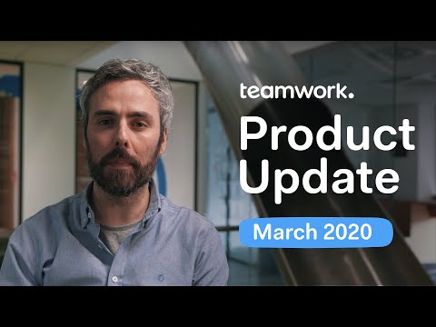 Teamwork - Product Update March 2020