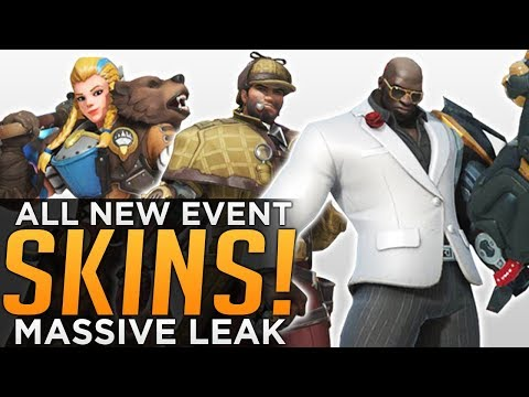 Overwatch: All NEW Anniversary 2018 SKINS Leaked!