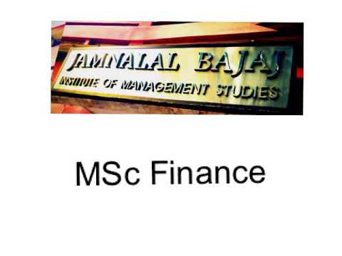JBIMS 2018 MSc finance admission process overview