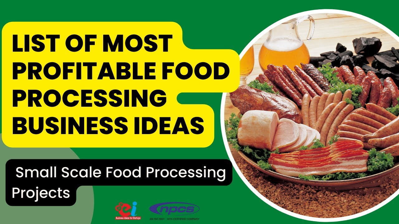 Food Processing Project List