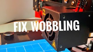 Fix Bed And Printhead Wobbling Issue Of Your 3D Printer | 3D Printer Issues
