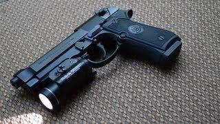 Beretta 92A1 Update 3/1/13 - Streamlight TLR1s.