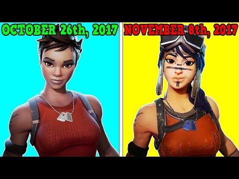 EVERY SKIN THAT CAME OUT IN SEASON 1! (Skins More OG Than Recon Expert & Renegade Raider)