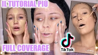 SEGUO IL TUTORIAL PIÙ STRANO DI TIKTOK *super full coverage ed extra*