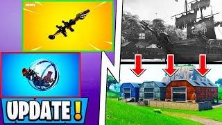 *NEW* Fortnite Update!   All 8.11 Changes, Explosives, 8.20 Map, Vault!