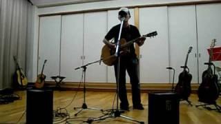 耳コピ、原曲はカポ1なので、これは半音下げです。 2009.5.10 くすの木...