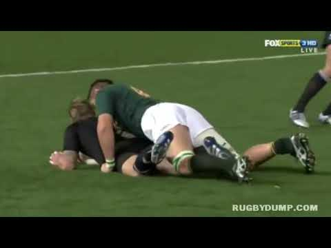 Bakkies Botha - Rugby's Biggest Thug