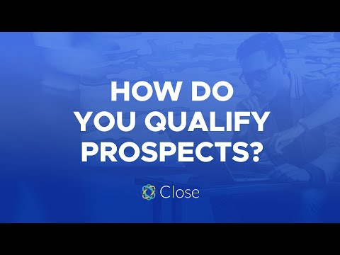 """How To Qualify Prospects"" Sales Advice by @Steli"