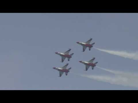 Singapore Airshow flying display