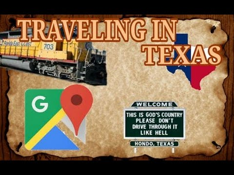 Traveling In Texas