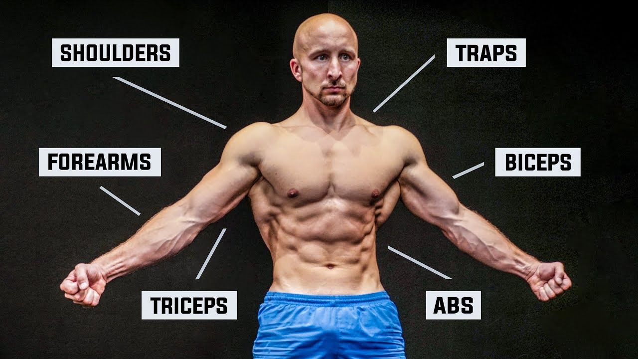 Only 4 Exercises to Hit Every Muscle!