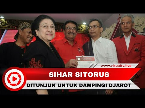 Sihar Sitorus, Putra Medan yang Ditunjuk Mega untuk Dampingi Djarot di Pilkada Sumut
