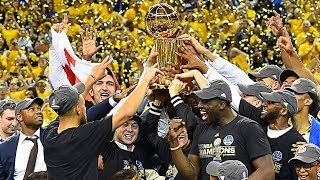 FULL 2017 NBA Championship Celebration From Golden State Warriors thumbnail