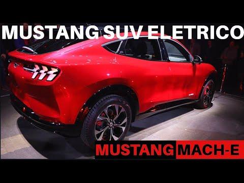 Mustang elétrico SUV. Ford Mustang Mach-E! Mach-e First impressions #ford #mustang #mach-e
