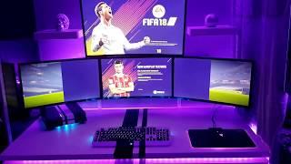 Gaming setup refresh 2018