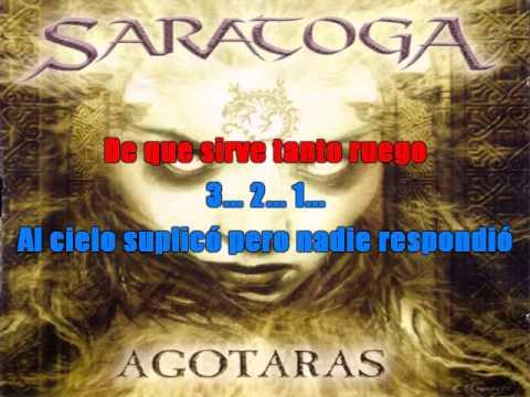 saratoga - tras las rejas (karaoke)