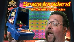 Space Invaders Tabletop Arcade Game by Excalibur Electronics!