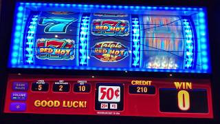 💥Watch These BIG Wins on Triple Red Hot Slot Machine💥