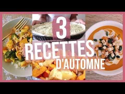 🍂🎃3-dÉlicieuses-recettes-d'automne-//-healthy,-rapides-&-gourmandes