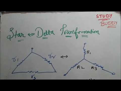 Star Delta Transformation [Hindi] - Electrical Technology
