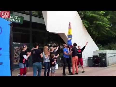 Amazing Street Circus in Seattle - Part 3