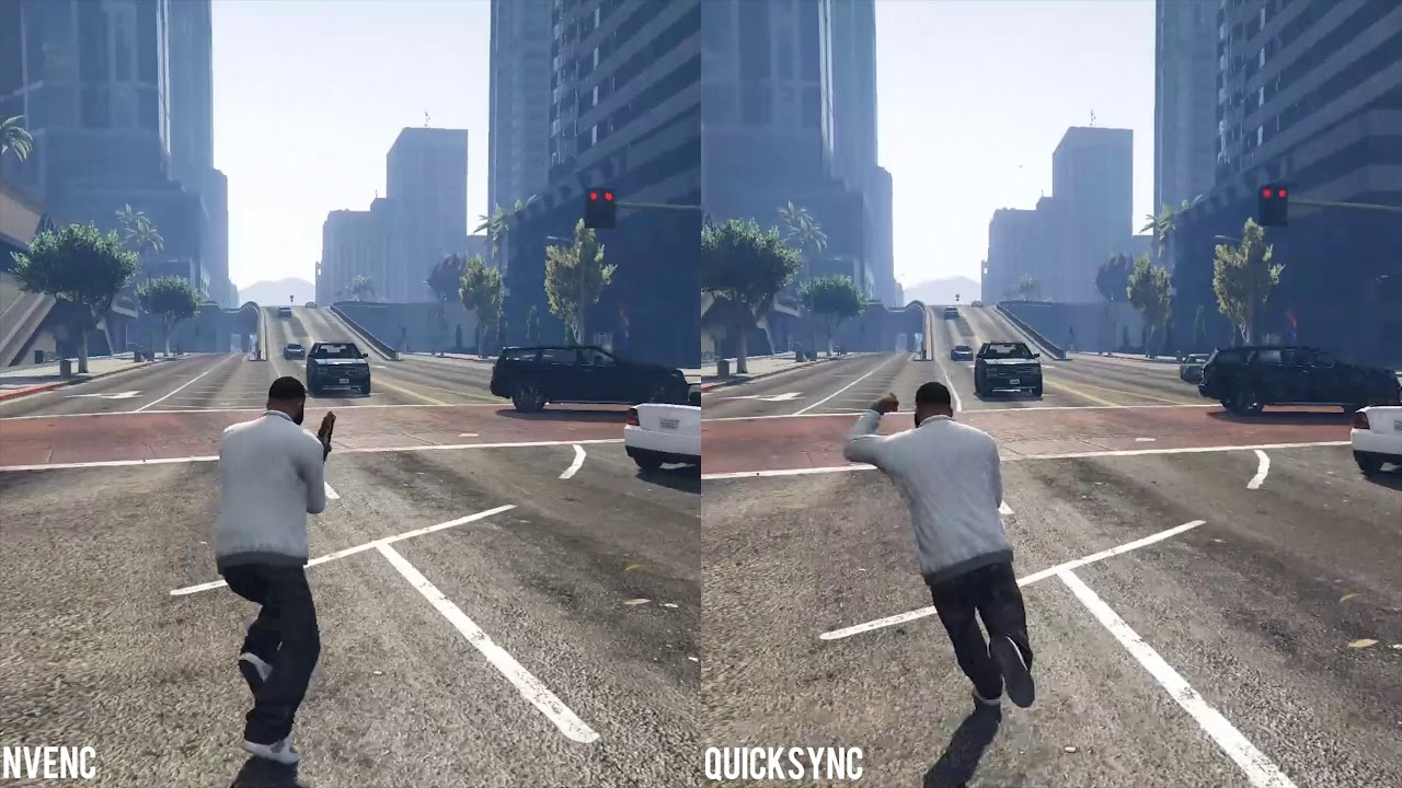Nvidia NVENC vs  Intel Quick Sync - OBS Quality Comparison
