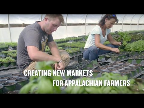 Creating New Markets for Appalachian Farmers