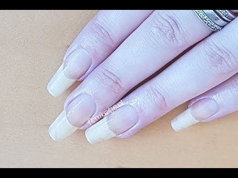 Long Natural Nails: Cleaning, Cuticles & Handcare - femketjeNL - YouTube