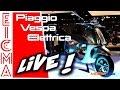 Piaggio Vespa Elettrica | Live da Eicma 2016