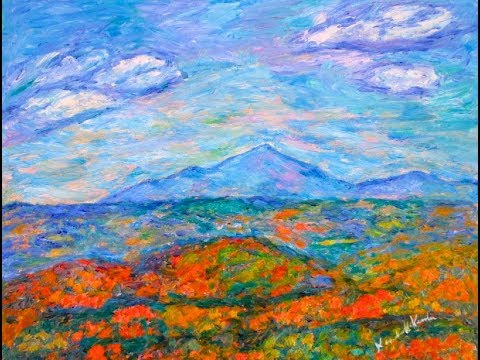 Blue Ridge Parkway Artist Latest painting and Special Promotion
