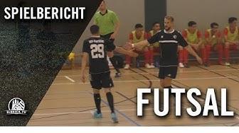 Hamburger Lions – HSV-Panthers (1. Spieltag, Futsal-Regionalliga Nord)