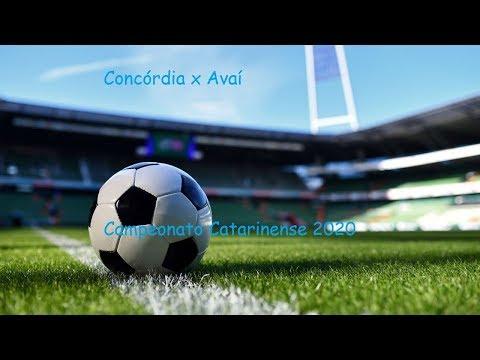 AO VIVO - Concórdia x Avaí - Campeonato Catarinense 2020