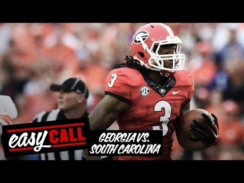 Georgia vs. South Carolina 2014 preview, odds, keys, score prediction (Easy Call)
