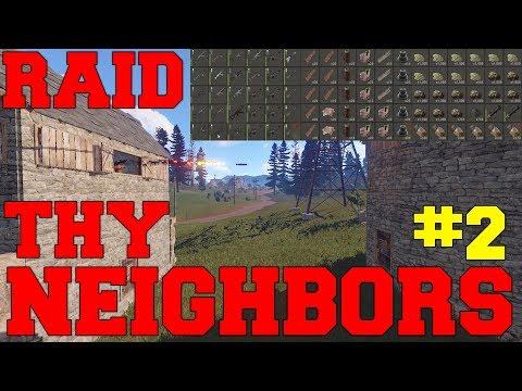 RAID THY NEIGHBORS #2 | Online Raid (Vanilla)