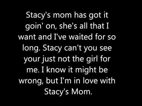 Stacy's Mom Lyrics