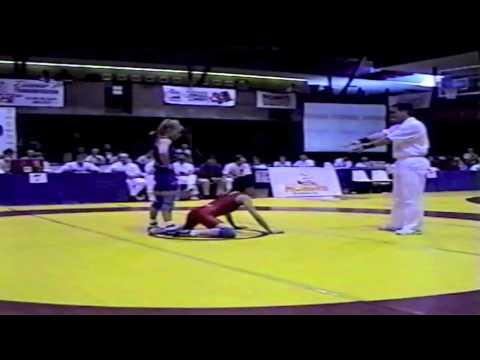 2000 Senior National Championships: 46 kg Carol Huynh vs. Tania Mair