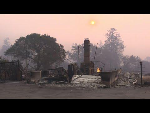 California wildfire evacuee: 'we lost everything'