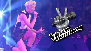 Du Hast Den Farbfilm Vergessen – Stephanie Kurpisch | The Voice 2014 | Knockouts