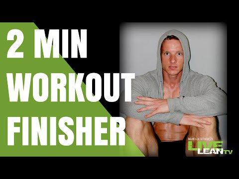 Is really a Finisher Your Answer to Better Fitness Results