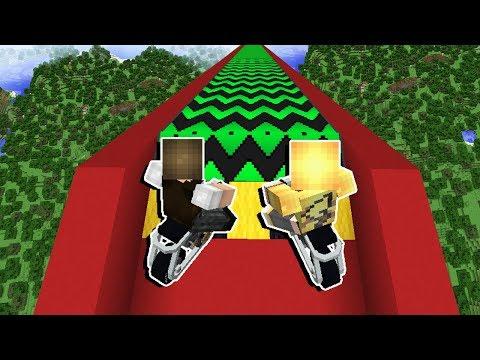 Minecraft: DESCEMOS DE MOTO A MAIOR RAMPA DO MUNDO! thumbnail