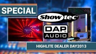 Special - Highlite Dealer Day /Hausmesse 2013 mit eindrucksvoller Lightshow