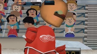 NHL 2K10 wii raging and funny moments